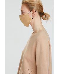 Dorothee Schumacher Smooth Companion Silk Mask - Natural