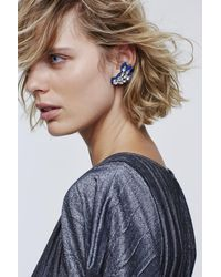 Dorothee Schumacher Sparkling Wings Assymetric Clip Earrings - Multicolor
