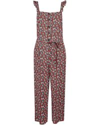 Dorothy Perkins Red Ditsy Print Jumpsuit, Red