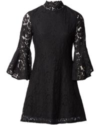 Amazon Online Outlet Fashion Style Dorothy Perkins Womens *Izabel London Curve Lace Skater Dress- 6vrrEHyMm
