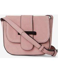 Dorothy Perkins - Pieces Pink  bivonne  Cross Body Bag - Lyst ddab8f3640