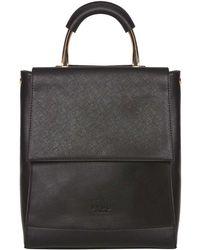 Dorothy Perkins Lydc Black Top Handle Backpack