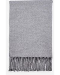 Dorothy Perkins Pink And Grey Double Side Scarf, Grey - Gray