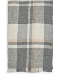 Dorothy Perkins Multi Colour Checked Scarf - Pink