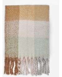 Dorothy Perkins Multi Colour Check Print Scarf, Multi Colour - Multicolour