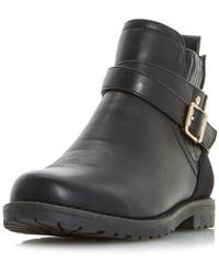 Dorothy Perkins - Head Over Heels By Dune Black 'panache' Ankle Boots - Lyst