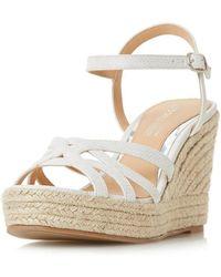 Dorothy Perkins - Head Over Heels By Dune 'kalissa' Ladies Wedge Sandals - Lyst