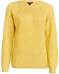 Dorothy Perkins Yellow Stitch Sweater, Yellow