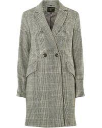Dorothy Perkins Multi Colour Check Coat - Multicolour