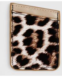 Dorothy Perkins Black Animal Print Phone Card Holder