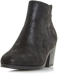 Dorothy Perkins - Head Over Heels By Dune Black 'pretty' Ankle Boots - Lyst