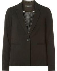Dorothy Perkins Black Textured Jacket, Black