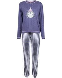 Dorothy Perkins Navy Supersoft Owl Twosie - Blue