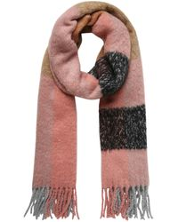 Pieces Pieces Pink Scarf, Pink