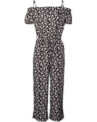 fa2161d3916 Dorothy Perkins - Izabel London Multi Colour Floral Print Jumpsuit - Lyst