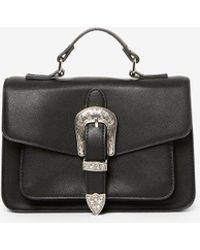 Dorothy Perkins - Pieces Black 'faustine' Cross Body Bag - Lyst