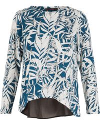 Dorothy Perkins - Tenki Teal Tropical Jumper - Lyst