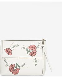 Dorothy Perkins - White Embroidered Cross Body Bag - Lyst