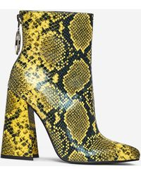 Dorothy Perkins Lola Skye Green 'lake' Ring Boots