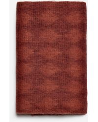 Dorothy Perkins Rust Long Knitted Scraf - Red