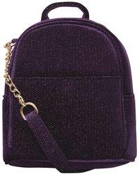Dorothy Perkins Purple Mini Cross Body Backpack