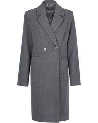 Dorothy Perkins Gray 3/4 Jacket