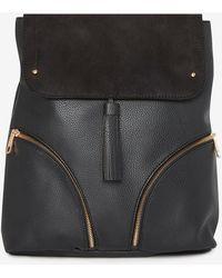 Dorothy Perkins Black Tassel Detail Backpack