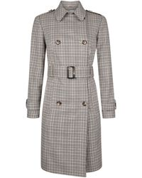 Dorothy Perkins - Petite Multi Colour Checked Patch Pocket Raincoat - Lyst