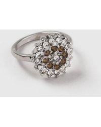 Dorothy Perkins - Flower Stone Ring - Lyst