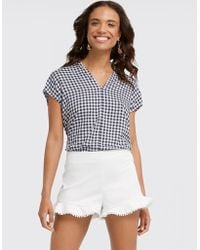 Draper James - Flutter Shorts - Lyst