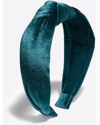 Draper James Velvet Knot Headband - Multicolor