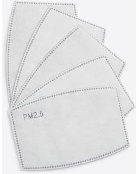 Draper James Pm2.5 Face Mask Filters – 5-pack - White