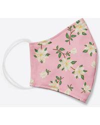 Draper James Magnolia Floral Face Mask — 3-pack - Pink