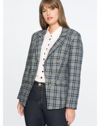 Draper James - For Eloquii Double Breasted Blazer - Lyst