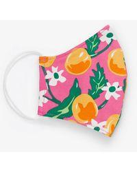 Draper James Face Mask In Orange Blossom - Pink
