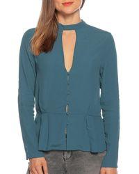 Pepe Jeans - Bluse in blau für Damen, Größe: XL - Lyst