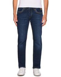 Rusty Neal Straight Jeans - Blau