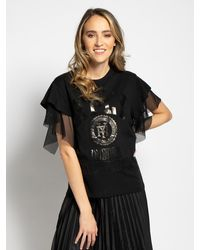 Replay T-Shirt - Schwarz