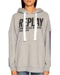 Replay Sweatshirt - Grau