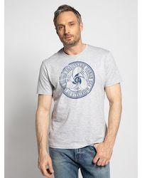Tom Tailor - T-Shirt in grau für Herren, Größe: XL - Lyst