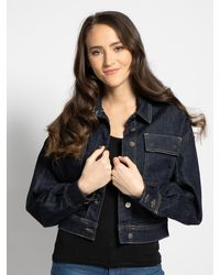 Pepe Jeans - Jeansjacke in blau für Damen, Größe: XL - Lyst