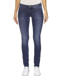 Tommy Hilfiger Low Rise Skinny Fit Jeans - Blue