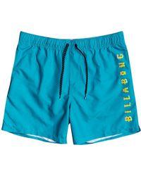 Billabong All Day Heritage Swimming Shorts - Blue