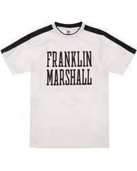 Franklin & Marshall Jersey Round Neck - White