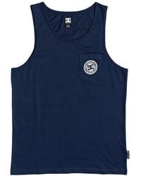 DC Shoes Pocket Sleeveless T-shirt - Blue