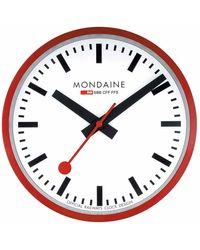 Mondaine M990 Watch - Red