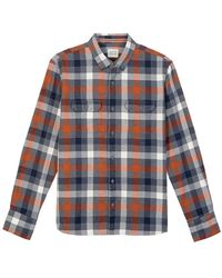 Oxbow Cherby Long Sleeve Shirt - Blue