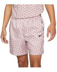 Nike Sportswear Repeat Woven Shorts - Pink