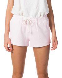 Rip Curl Organic Short Pants - Pink