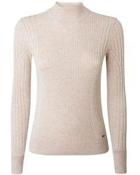 Pepe Jeans Amalia Long Sleeve Sweater - Natural